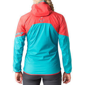 Dynafit Transalper Light 3L Jas Dames rood/blauw